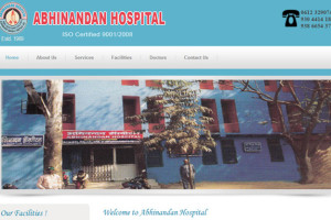 Abhinandan Hospital patna,ecommerce website designing Patna, responsive website designer patna, website design company patna, Website design Patna, website designer Patna
