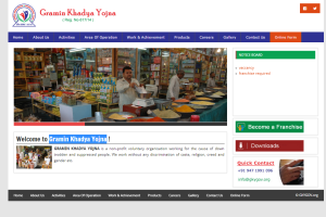 Gramin Khadya Yojna GKY,ecommerce website designing Patna, responsive website designer patna, website design company patna, Website design Patna, website designer Patna